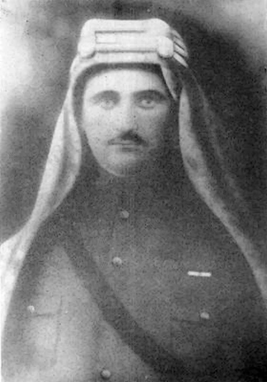 Sarkis Torossian, in charge of six thousand Arab cavalry troops in Damascus during World War I