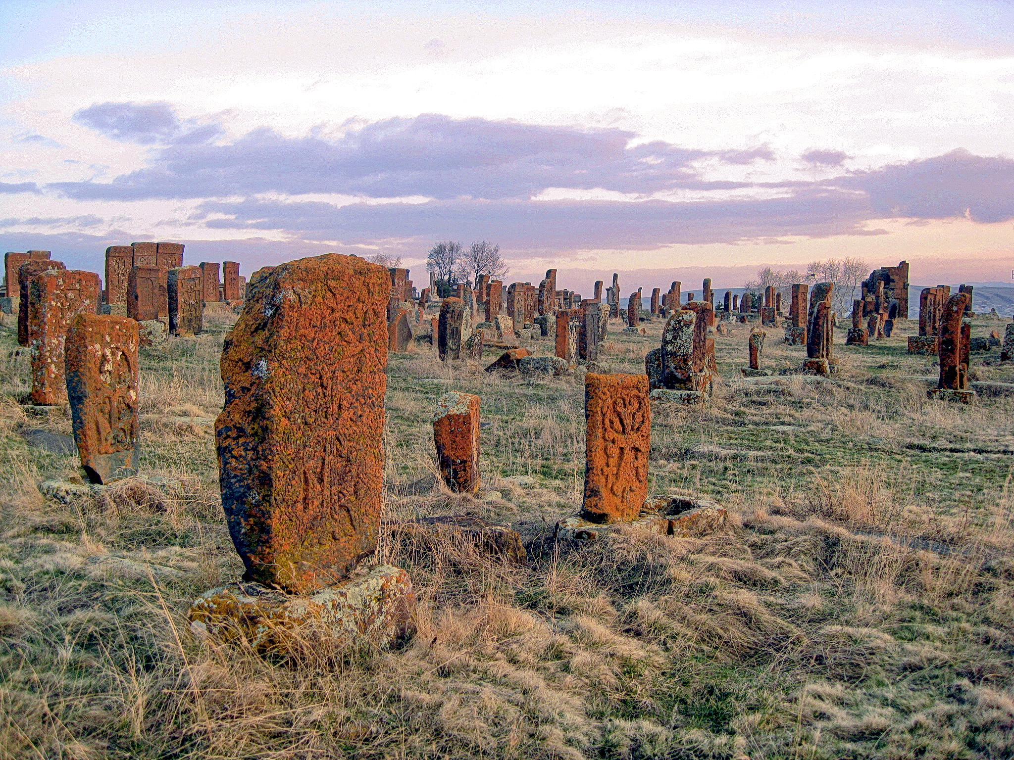 The Noratus cemetery, the earliest works of which date back almost a thousand years